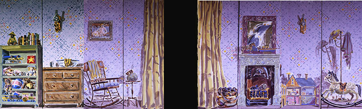 Ruth Tait Set Painting